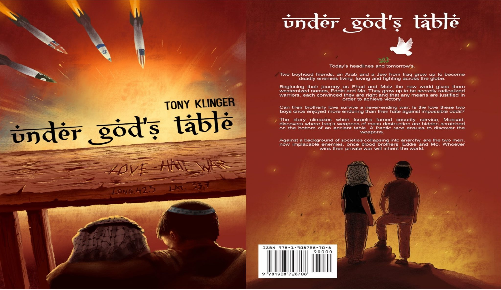 Under God's Table – A Manifestation Of The Man – The Author and Film Maker, Tony Klinger