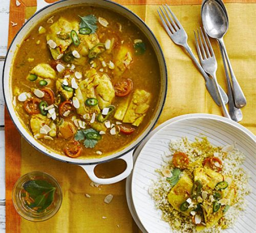 Spicy Moroccan Fish Tagine