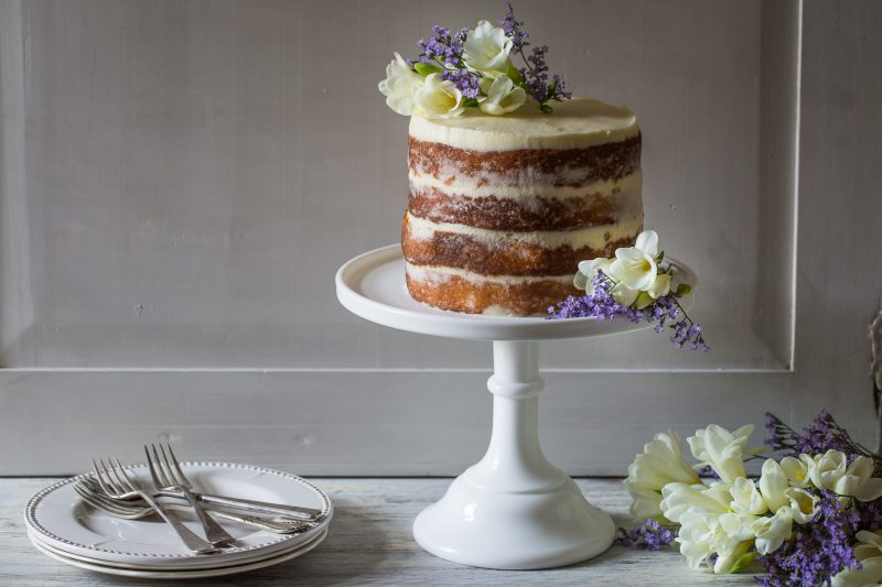 Serve up your own slice of the Royal Wedding cake with this zesty recipe