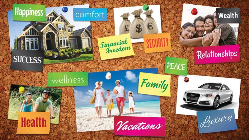 CREATE A VISION BOARD AND CHANGE YOUR LIFE FOREVER