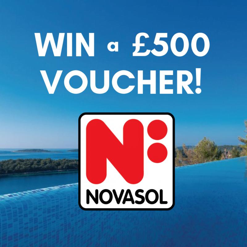 WIN a £500 NOVASOL Holiday Homes voucher!