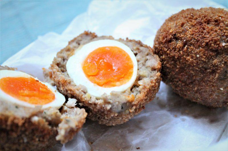 Scotch Eggs with Parmigiano-Reggiano