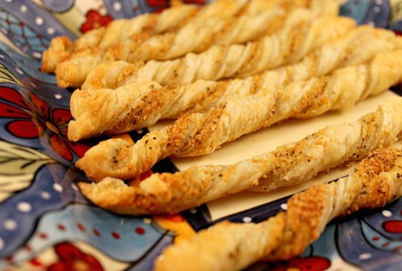 Parmigiano Reggiano Cheese Straws