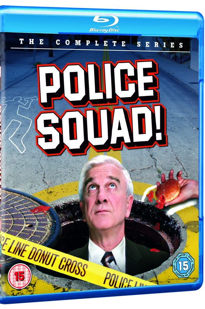 Police Squad! The Complete Series available on Blu-ray from 20th April 2020