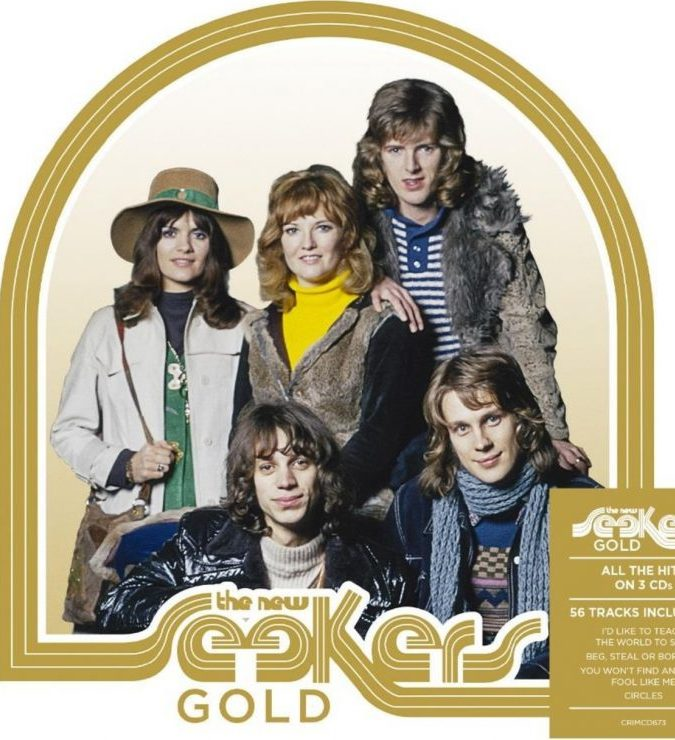 The 50th Anniversary of The New Seekers – GOLD –  All the Hits on 3 CDs