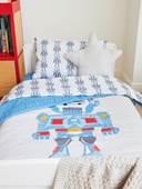 Description: Description: A picture containing indoor, bed  Description automatically generated